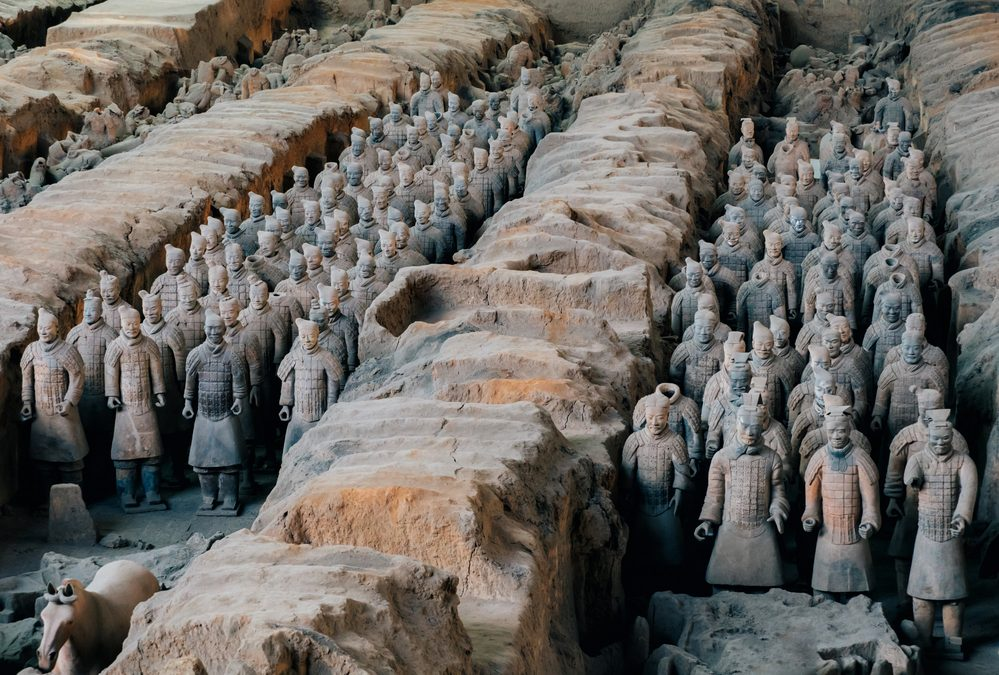 Xi'an: Terracotta Warriors, Little Goose Pagoda, and City Wall